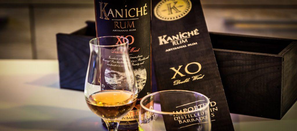 Kaniche - XO Double Wood Rum mit Glas