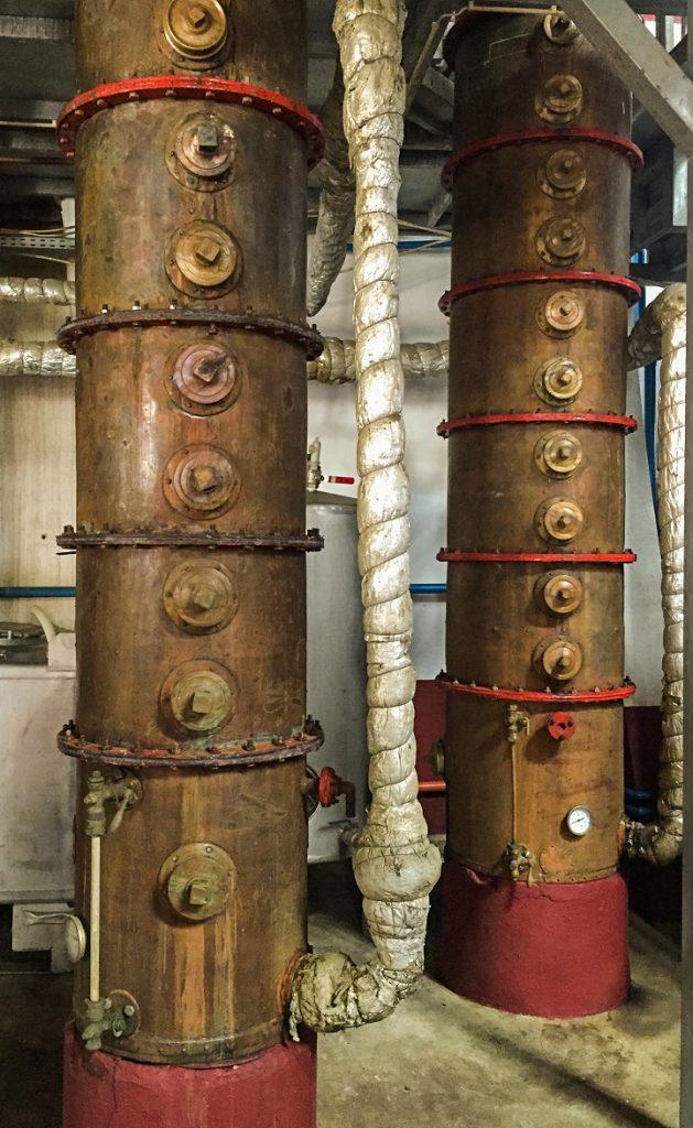 Rum-Destillation
